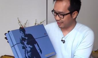 Uncharted 4 : notre unboxing de la PS4 collector Nathan Drake