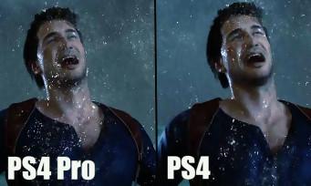 Uncharted 4 : une vidéo comparative PS4 vs PS4 Pro, les différences