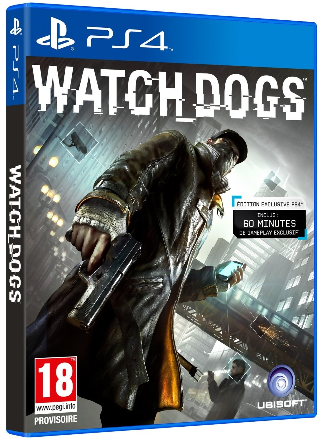 watch dogs gameplay trailer sur ps4. Black Bedroom Furniture Sets. Home Design Ideas