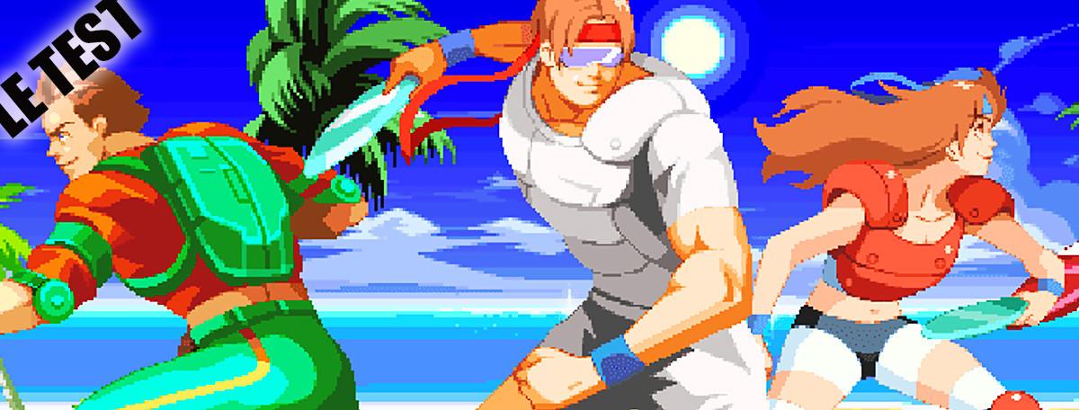 Test Windjammers (PS4) : retour en grâce d'une légende de la NeoGeo