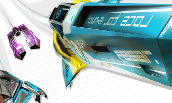 Test de WipEout Omega Collection sur PS4