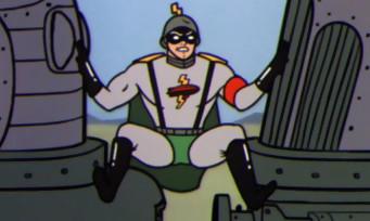 Wolfenstein 2 : une fausse pub avec Blitzmensch, un super-héros nazi