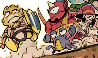 Test Wonder Boy The Dragon's Trap sur PS4 et Nintendo Switch