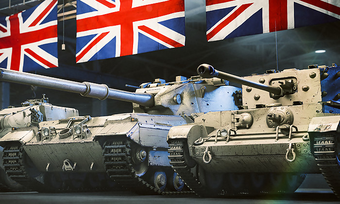 world of tanks l 39 arm e britannique d barque sur ps4 via une mise jour. Black Bedroom Furniture Sets. Home Design Ideas