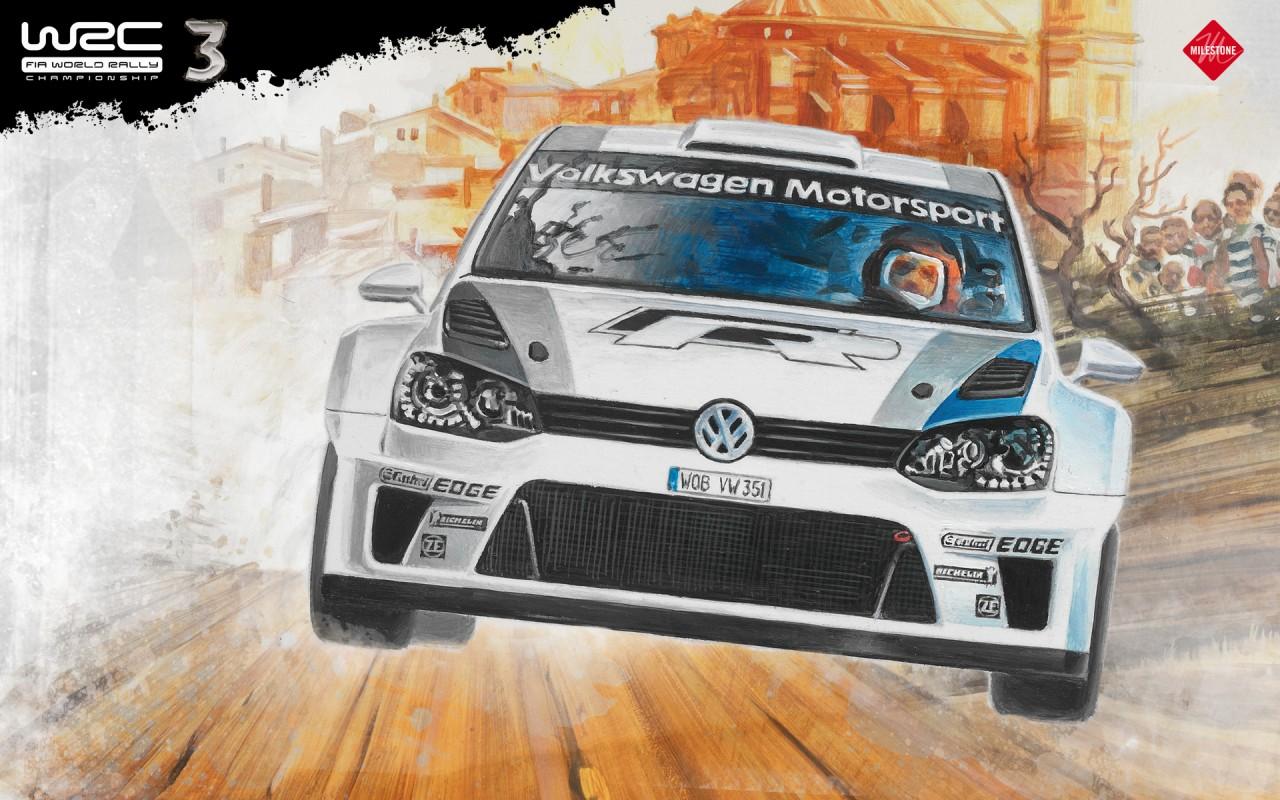 Toutes les images du jeu WRC 3