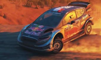 WRC 7 : trailer de gameplay de la Ford Fiesta de Sébastien Ogier
