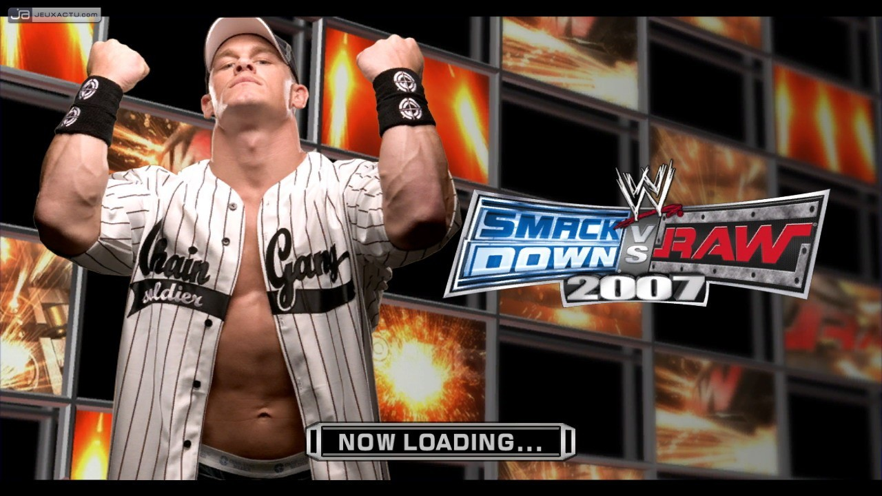 how to play wwe raw 2007