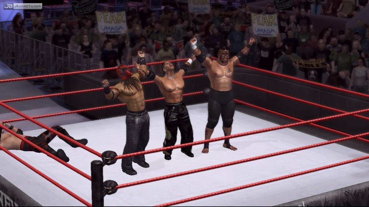video de wwe smackdown vs raw 2007 sur