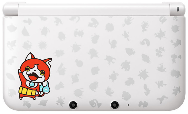 3ds xl une console aux couleurs de yo kai watch 2. Black Bedroom Furniture Sets. Home Design Ideas