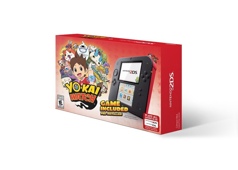 yo kai watch d couvrez le bundle 2ds. Black Bedroom Furniture Sets. Home Design Ideas