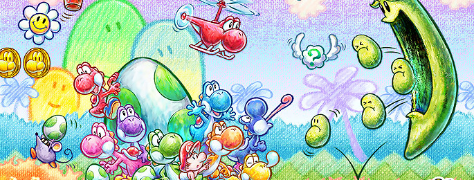 Test Yoshi's New Island sur 3DS