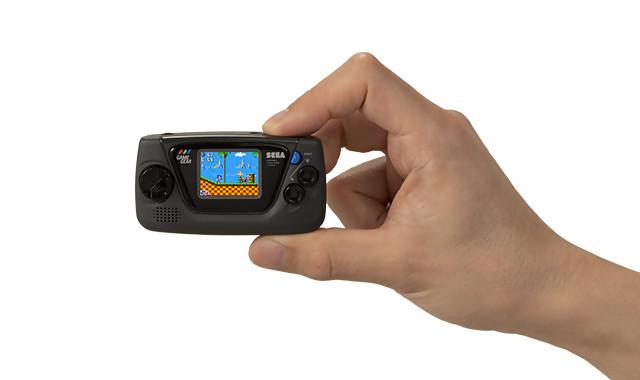 SEGA dévoile non pas une mais quatre Games Gears Micros