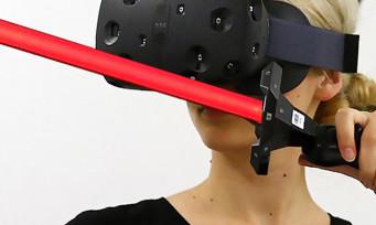 HTC Vive : on a joué à Star Wars en réalité virtuelle et ça déboîte !