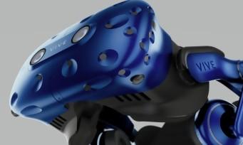 HTC Vive : toutes les images du Vive Pro et de l'adaptateur sans-fil