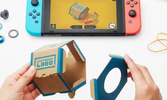 Nintendo Labo : comment ça marche ? On vous explique tout !