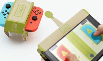 Nintendo Labo : plus d'un million de ventes pour l'atelier créatif en carton