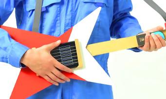 Nintendo Labo : une vidéo qui explique comment fabriquer une guitare