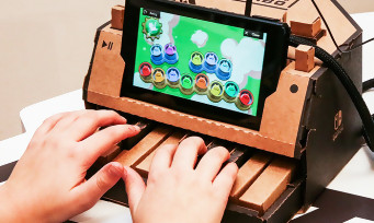 Nintendo Labo : Nintendo satisfait de ses jouets en carton
