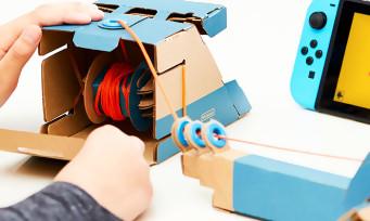 Nintendo Labo : voilà comment se procurer des kits de remplacement