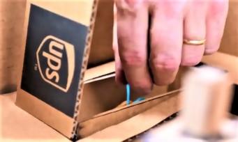 Nintendo Labo : UPS dévoile son Toy-Con-tainer, une valise en carton