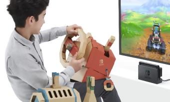 Nintendo Labo : un trailer de gamepaly du kit véhicules !