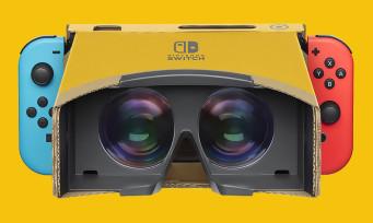 Switch : la réalité virtuelle arrive enfin grâce à Nintendo Labo