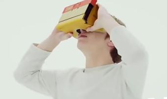 Nintendo Labo : le VR Kit se présente avec un gros trailer, et pourquoi pas