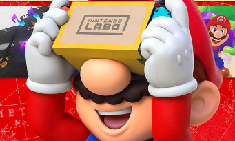 Nintendo Labo : des images de Super Mario Odyssey VR