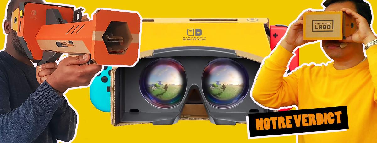 Test Nintendo Labo Kit VR : le parent pauvre de la réalité virtuelle ?