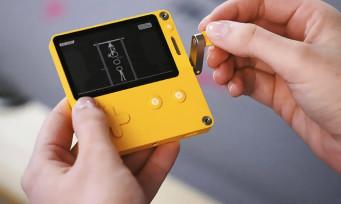 Playdate : une nouvelle console portable avec une manivelle
