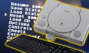 PlayStation Classic : on peut bidouiller la console en branchant un clavier !