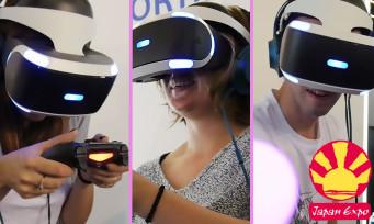PS VR : ce que les visiteurs de Japan Expo pensent du casque de Sony