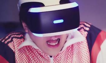 PlayStation VR : un spot TV hongkongais complètement barré