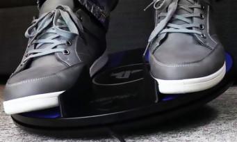 PS4 : Sony présente le 3DRudder, un tapis pour le PS VR !
