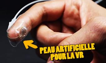 VR : la peau artificielle deviendrait le prochain outil de la réalité virtuelle