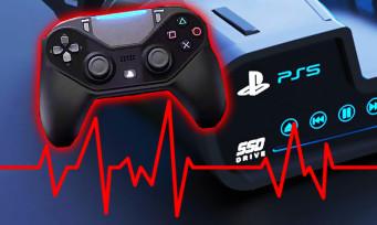 PS5 : une manette capable de capter l'humidité de la peau ?