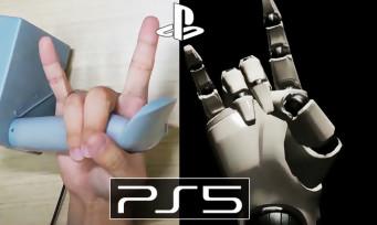 PS5 : voici à quoi ressembleraient les manettes du PlayStation VR 2