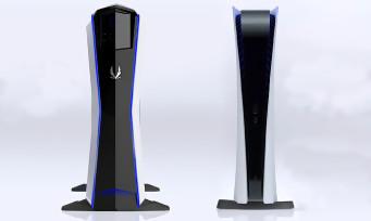 PS5 : le design de la console comparé à celui du PC MEK1