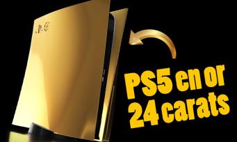 PS5 : le modèle en or 24 carats bientôt disponible en préco, un prix fou