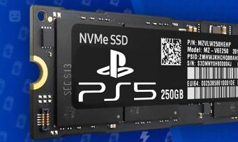 PS5 : le SSD magique serait plus petit que prévu, les indices