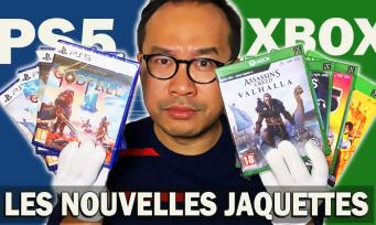 PS5 & Xbox Series X : on découvre les nouvelles jaquettes next gen' en 4K