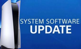 PS5 : la première mise à jour du firmware est disponible