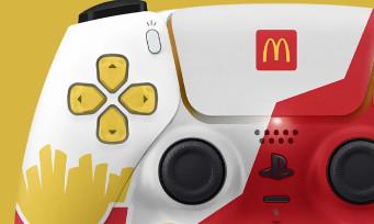 McDonald's voulait lancer une manette PS5 très laide, mais Sony a mis son véto