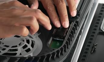 PS5 : une mise à jour importante pour le stockage (SSD) et l'audio
