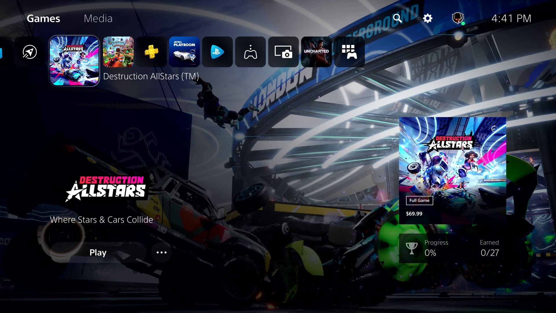 PS5 : Un premier aperçu officiel de l'interface