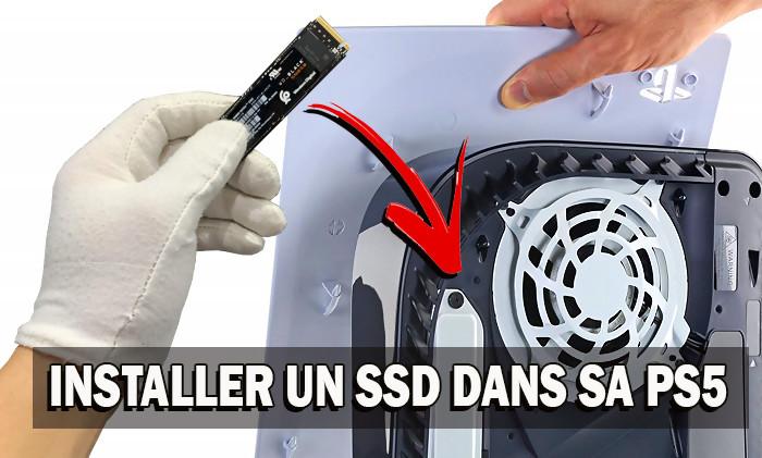 Tuto PS5 : comment installer un disque SSD supplémentaire dans la console - JeuxActu