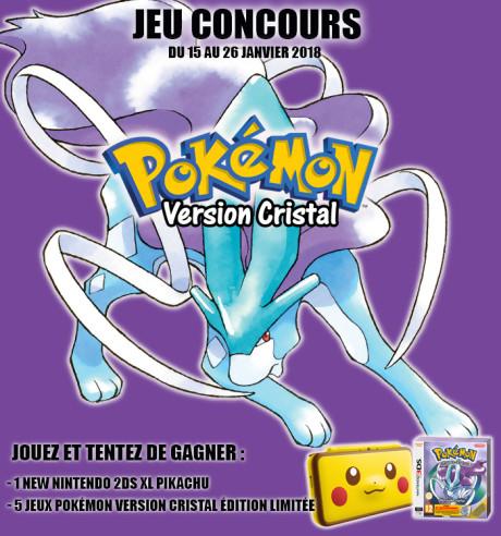 "Jeu-concours ""Pokémon Cristal"""