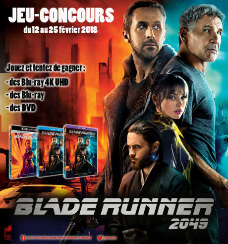 "Jeu-concours ""Blade Runner 2049"""