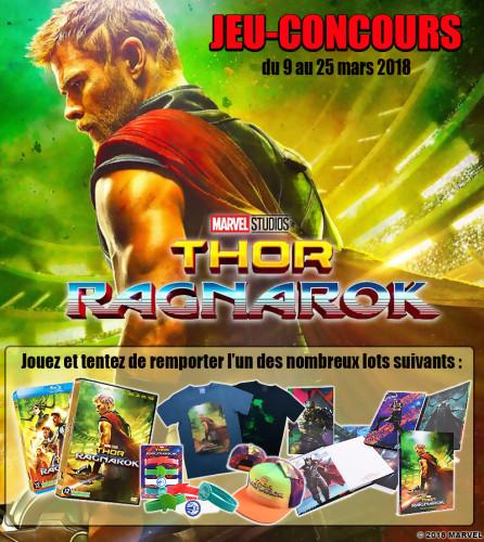 """Jeu-concours """"Thor Ragnarok"""""""