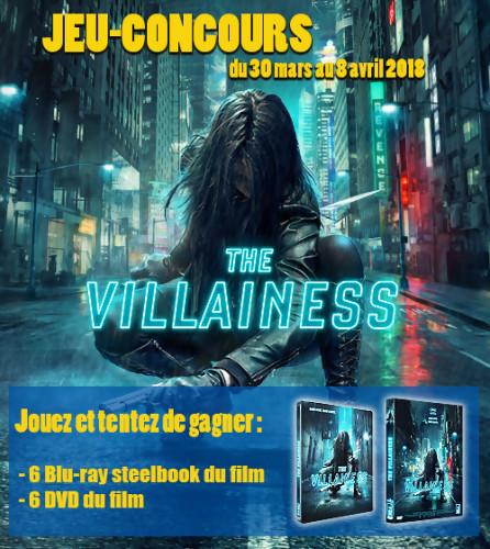 """Jeu-concours """"The Villainess"""""""
